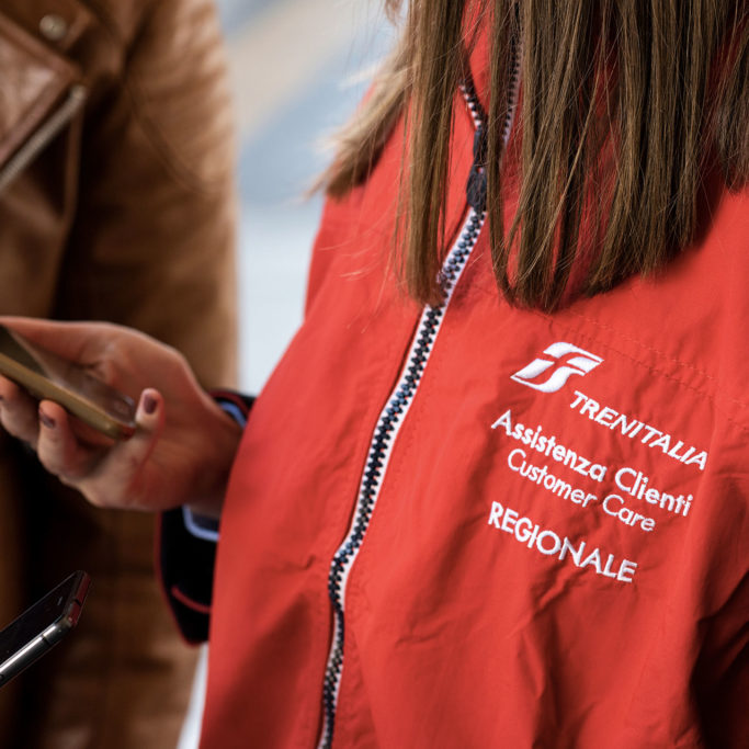 Foto: Customer care Trenitalia regionale