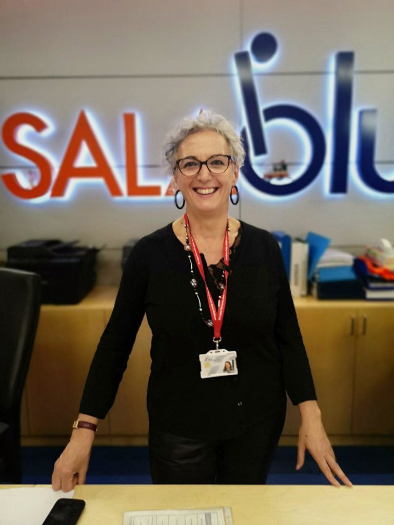 Foto: Emanuela, coordinatrice della Sala Blu di Firenze